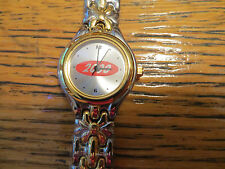 New Old Stock LeJour Women's Class 2000 Quartz Watch Weave Gold/Silver Band