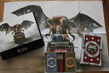 WITCHER : WILD HUNT - BLOOD AND WINE - Gwent Cards + LIMITED BOX + POSTER !!!!