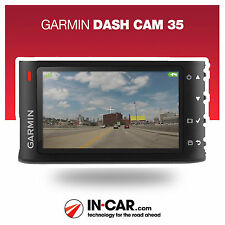 NEW Garmin Dash Cam 35 Car Crash Accident Recorder GPS Speed Camera Alerts