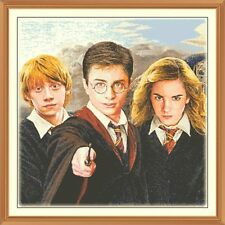 harry potter hogwarts  CROSS STITCH CHART 12.0 x 12.0 Inches