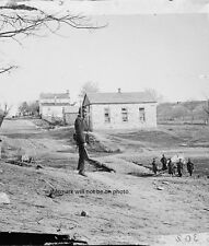 """Union Soldier standing guard at Stone Church 8""""x 10"""" Civil War Photo Picture #7"""