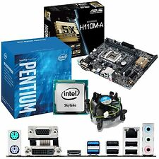 Intel Pentium g4400 3.3ghz & ASUS h110m-a - CPU scheda madre & Bundle