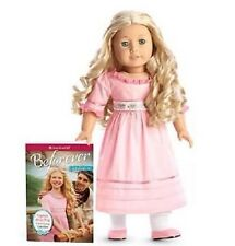 "CAROLINE  BEFOREVER AMERICAN GIRL DOLL  18""  NEW IN BOX WITH BOOK"