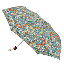 Morris & Co. by Fulton Minilite 2 Umbrella - Minor Golden Lily Slate Manilla