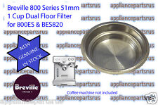 Breville Coffee Machine 1 Cup Filter 800ES BES820 - Part No 800ES/235 - NEW