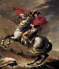 David jacques louis napoléon au st bernard pass d'impression A4