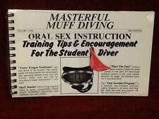 Masterful Muff Oral Sex Instruction Book Adult Novelty