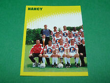 N°377 EQUIPE PART 1 AS NANCY LORRAINE ASNL D2 PANINI FOOT 98 FOOTBALL 1997-1998