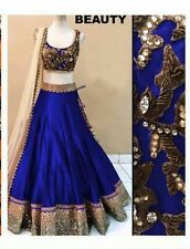 Top Selling Beauty Royal Blue New Designer Lehenga choli for Girls & Women.