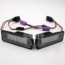 2x 18-SMD LED License Plate Light For Porsche Boxster Cayman Carrera 911 Cayenne