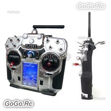 FS-i10 Flysky 2.4GHz 10CH AFHDS2 LCD Radio Transmitter & Receiver for RC Heli