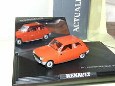 RENAULT 5 EDITION SPECIALE 30 ANS ORANGE   ELIGOR 1:43