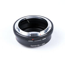 Camera Lens Adapter For Canon FD Mount to Sony E NEX-3N NEX-5R NEX-6 NEX-​7