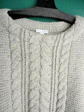 J.Jill Sweater XL Soft Cable  Knit Lush Pullover  Oatmeal Heather tunic  NWT $89