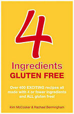 Direct from 4 Ingredients, Gluten Free, Personally Signed by Kim McCosker
