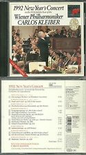 RARE / CD - CARLOS KLEIBER : 1992 NEW YEAR' S CONCERT ( CLASSIQUE ) / COMME NEUF