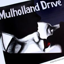 ORIGINAL MULHOLLAND DRIVE MOVIE FILM SURREALIST ART POSTER DAVID LYNCH
