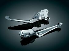 Kuryakyn 1080 Boss Blades with Adjustable Clutch Lever Harley 1996-2016