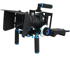 DSLR Rig Kit Shoulder Mount Rig + Matte Box +Follow Focus+Dslr Cage