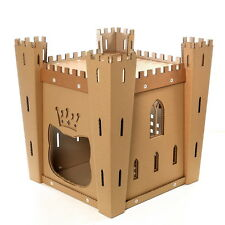 Cat's Fortress Cardboard Cat House