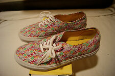 All You Need Is Love VANS Men's Size 9 Women's 10.5 Beatles Yellow + MUG! RARE