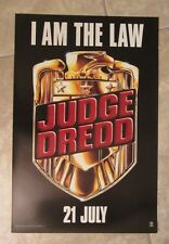 Judge Dredd movie poster : Sylvester Stallone poster - 11.75 x 17.75 inches