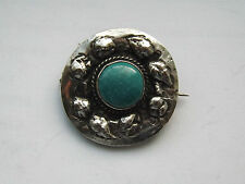 Antique Arts & Crafts Silver Ruskin Brooch - c.1900 - 1910