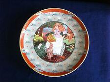 """Villeroy & Boch/Heinrich Once Upon A Rhyme """"A Tisket, A Tasket"""" plate"""
