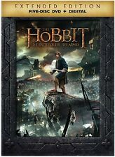 Hobbit: The Battle Of The Five Armies (2015, DVD New)