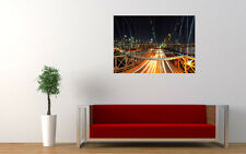 NEW YORK BRIDGE NEW GIANT LARGE ART PRINT POSTER PICTURE WALL