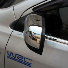 New Chrome Rearivew Mirror Cover Trim for Nissan Versa Sedan 2012 2013 2014
