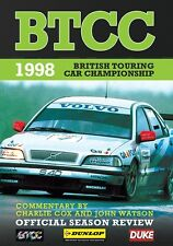 BTCC British Touring Car Championship - Official Season Review 1998 (New DVD)