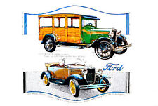Ken Dallison 1929 Model A Deluxe Ford Phaeton Wagon Classic Car Poster Art Print