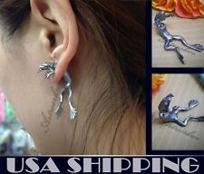One Pair The Frog Prince Puncture Ear Stud Womens Mens Unisex Earring