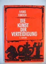 Schach Die Kunst der Verteidigung, Hans Kmoch