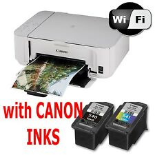 CANON Pixma MG3650 All in One WIRELESS PRINTER SCANNER COPIER + Inks
