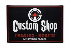 Custom Shop Logo Counter Mat. As Seen On TV!