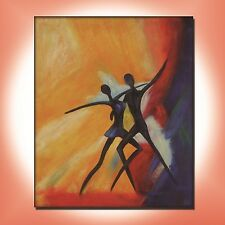 READY TO HANG CANVAS WALL ART ABSTRACT OIL PAINTING MODERN DECOR HAND PAINTED