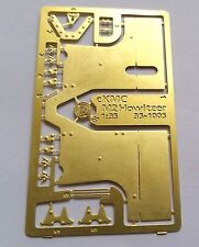 WWII M2 Howitzer - PE Brass Detail Parts for 1/35th KMC35-1005 - PhotoEtch only