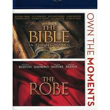 The Bible In the Beginning / The Robe Blu-ray 2-Disc Set 2012 Burton Simmons