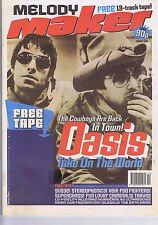 OASIS / MONTROSE AVENUE / JERRY SADOWITZ Melody Maker Mar 7 1998