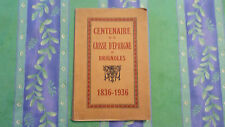 CENTENAIRE DE LA CAISSE D'ÉPARGNE DE BRIGNOLES / 1836 - 1936