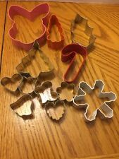 Cookie Cutters Assorted Spring Bunny Carrot Christmas Large And Mini