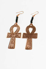 """Copper Ankh Earrings - """"Africa"""" -  Key Of lIfe & Knowledge - """"2 of A Kind"""""""