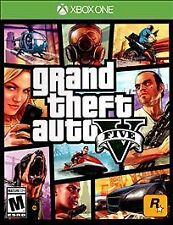 Grand Theft Auto V (Microsoft Xbox One, 2014) 5 1 Video Game M Mature Rock Star