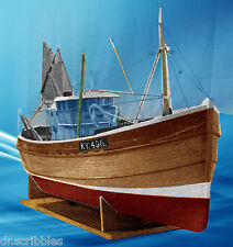 New Full Size printed Model Fishing Boat Plans and build notes for Radio Control