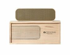NEW KREAFUNK AGROOVE WIRELESS SPEAKER BLUETOOTH STEREO RECHARGEABLE DUSTY PINK
