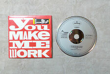"CD AUDIO MUSIQUE / CAMEO ""YOU MAKE ME WORK"" 3T 1988 CD MAXI-SINGLE 872 007-2"