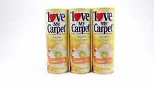 Love My Carpet Room Deodorizer Carpet Powder Pet Safe SUMMERS KISS Lot of 3