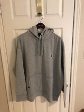 Polo Ralph Lauren Big and Tall Mens Gray Performance Hoodie Sweatshirt NWT 3XB